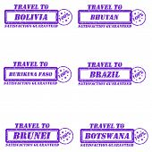 Stamps Travel To