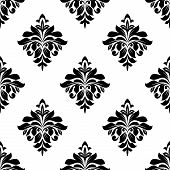 Foliate seamless pattern background
