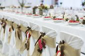 image of marriage decoration  - Beautiful wedding event decoration for various celebration style - JPG