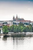 image of legion  - Castle of Prague from the Bridge of Legions - JPG