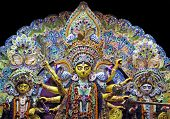 stock photo of durga  - Deity of Maa Durga - JPG