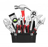 picture of vanadium  - Many Tools in tool box - JPG