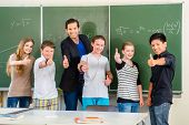 stock photo of student teacher  - School and education  - JPG
