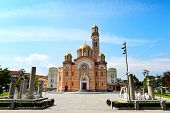 stock photo of luka  - Cathedral of Christ the Saviour Banja Luka - JPG