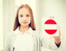 image of no entry  - education - JPG