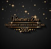 image of dinner invitation  - Valentines Day background for dinner invitations - JPG