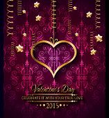 picture of dinner invitation  - Valentines Day background for dinner invitations - JPG