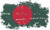 pic of bangladesh  - Bangladesh grunge flag - JPG