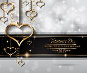 picture of san valentine  - San Valentines Day background for dinner invitations - JPG
