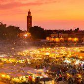 picture of masterpiece  - Jamaa el Fna also Jemaa el - JPG