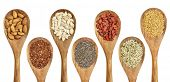 pic of quinoa  - superfood abstract  - JPG
