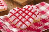 image of cookie  - Homemade Pink Valentine - JPG