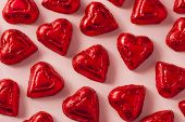 picture of valentine candy  - Chocolate Candy Heart Sweets for Valentine - JPG