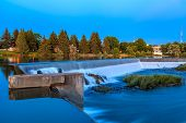 pic of hydro  - A small waterfall on Snake River - JPG