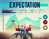 pic of expectations  - Business People Expectation Graph Concept - JPG