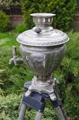 Постер, плакат: Old Russian Tea Samovar