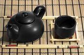picture of teapot  - Chinese Tea Set with Teapot and cup - JPG