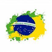 foto of carnival brazil  - brazil design over white background vector illustration - JPG