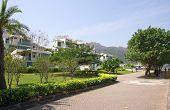 picture of lantau island  - Apartment blocks in Lantau Island Hong Kong - JPG