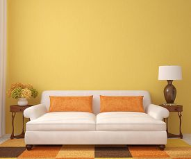 picture of couch  - Beautiful living - JPG