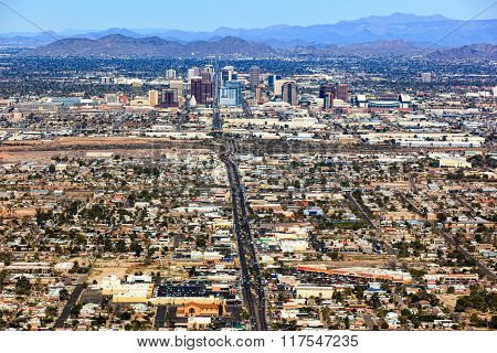 Central Avenue Phoenix Arizona