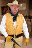 Old Western Gunfighter