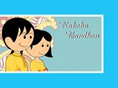 vector illustration for rakshabandhan celebration
