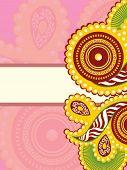 foto of rakshabandhan  - creative design greeting card for rakshabandhan - JPG