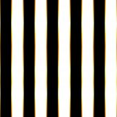 Luxury Striped Seamless Pattern. Black And White Vertical Thick Strips With Thin Gold Lines. poster