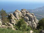 foto of oddities  - Crimean mountains  - JPG