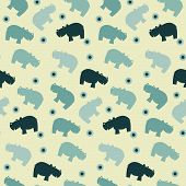 Pattern Of Simple Naive Hippo