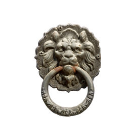 stock photo of door-handle  - Old style lion - JPG