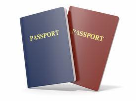 picture of passport template  - 1 - JPG