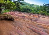 picture of chamarel  - Main sight of Mauritius - JPG
