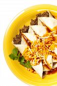 image of enchiladas  - A traditional Mexican food - JPG