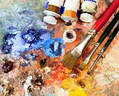 picture of pigment  - Artistic equipment - JPG