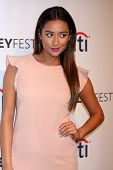 LOS ANGELES - MAR 16:  Shay Mitchell at the PaleyFEST -