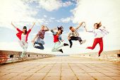 picture of break-dance  - summer - JPG