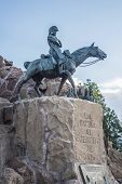 picture of mendocino  - Monument to the Army of the Andes at the top of the Cerro de la Gloria at the General San Martin Park inaugurated on February 12 1914 anniversary of the Battle of Chacabuco in Mendoza Argentina - JPG