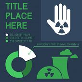 stock photo of radium  - Flat Infographic Elements - JPG