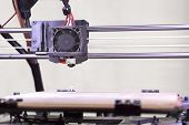foto of open-source  - Detail of the Open Source 3D Printer - JPG