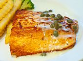 Salmon Steak 1