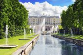 image of samson  - Park and Grand cascade in Pertergof - Saint-Petersburg ,Russia