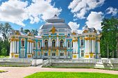 foto of tsarskoe  - Pavilion Hermitage in Tsarskoe Selo - JPG