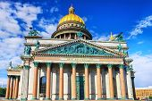 stock photo of granite dome  - Saint Isaac - JPG