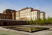 stock photo of turin  - venaria palace near the city of turin - JPG