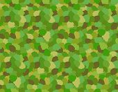 foto of camoflage  - Green Camouflage Military Pattern - JPG