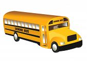 stock photo of bus driver  - school bus object isolated school series illustration - JPG