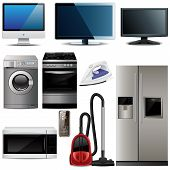 Household electronic elements