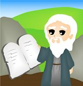 The Ten Commandments - Vector